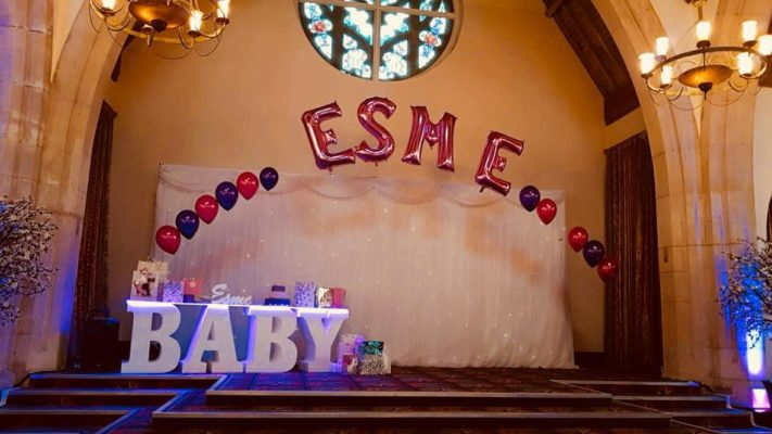 BABY LETTER TABLES