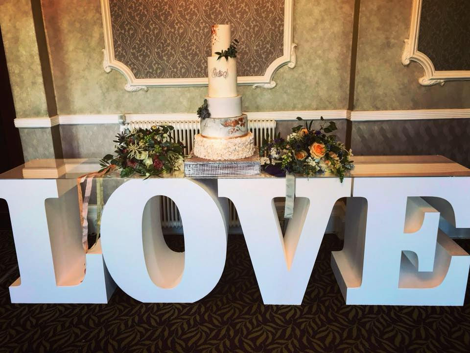 Love Wedding Table Hire