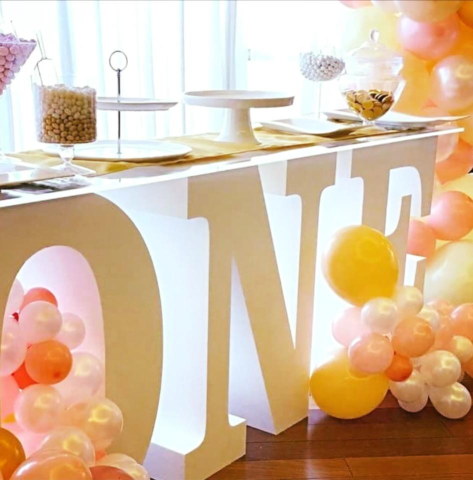 One First Birthday Table
